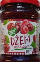 Dżem wiśniowy o obniżonej zawartości cukrów - Produkt - pl