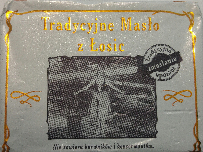 Tradycyjnie masło z Łosic - Produkt - pl