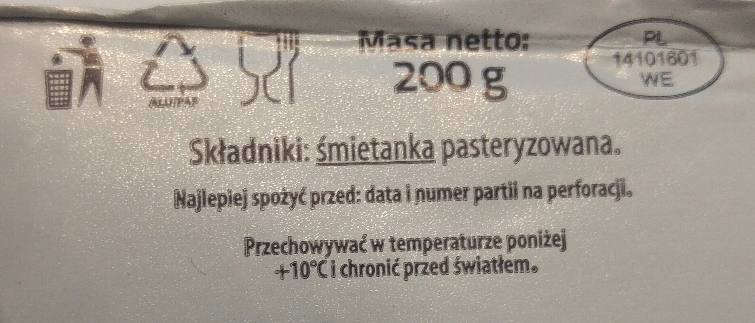 Tradycyjnie masło z Łosic - Składniki - pl