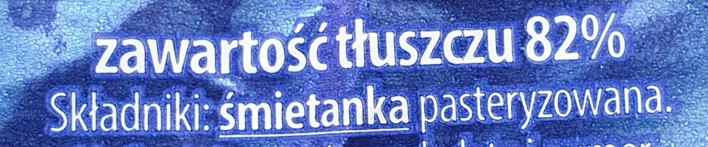 Masło - Składniki - pl