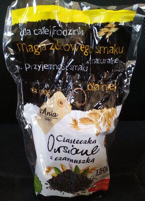 Ciasteczka owsiane z czarnuszką - Produkt - pl