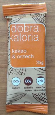 Dobra kaloria - kakao & orzech - Produkt - pl