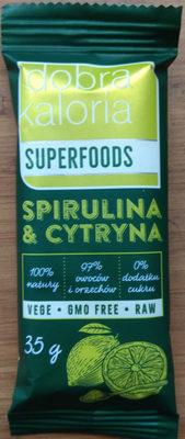 Spirulina&Cytryna - Produkt
