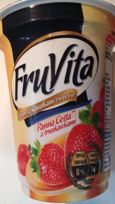 Jogurt o smaku Panna Cotta z truskawkami - Produkt