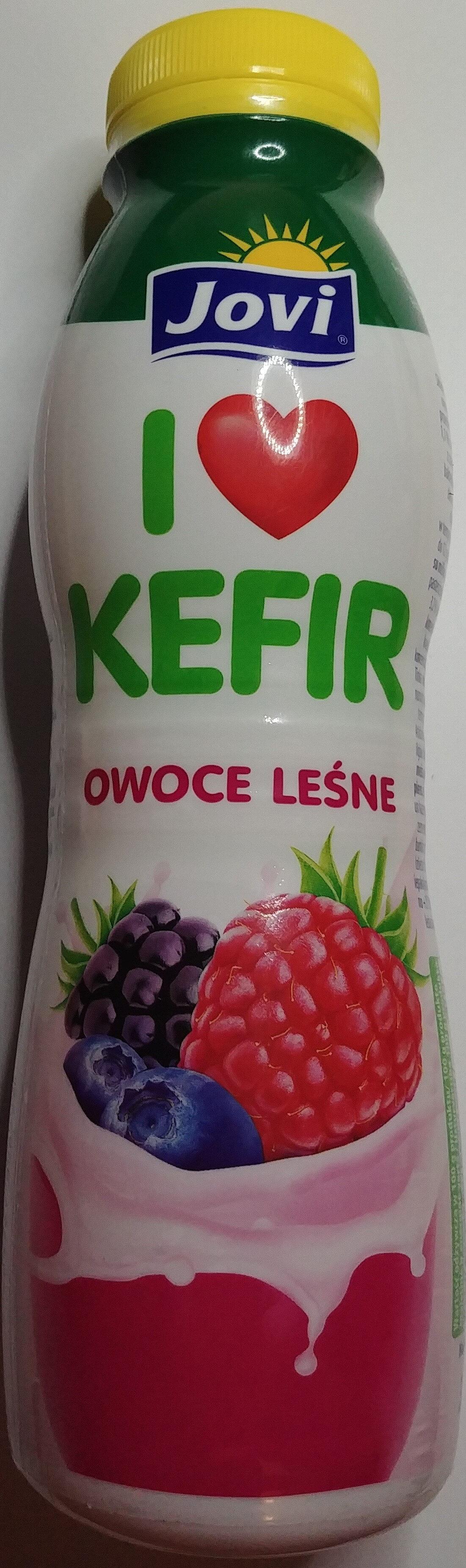 Kefir owoce leśne - Produkt
