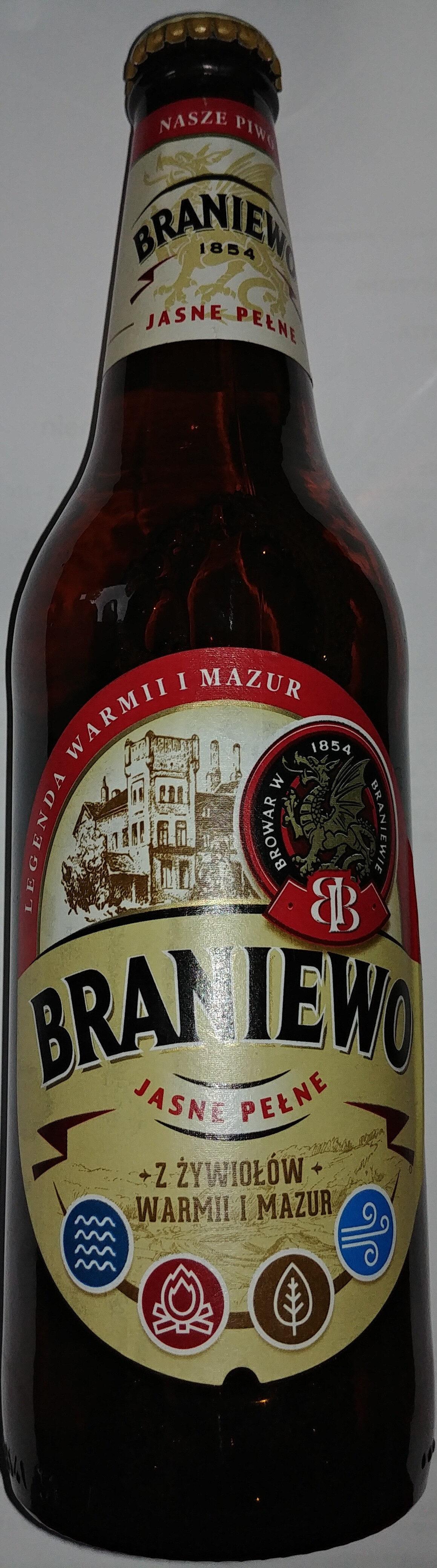 Piwo jasne pełne - Produkt