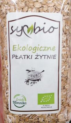 Ekologiczne płatki żytnie - Produkt - pl