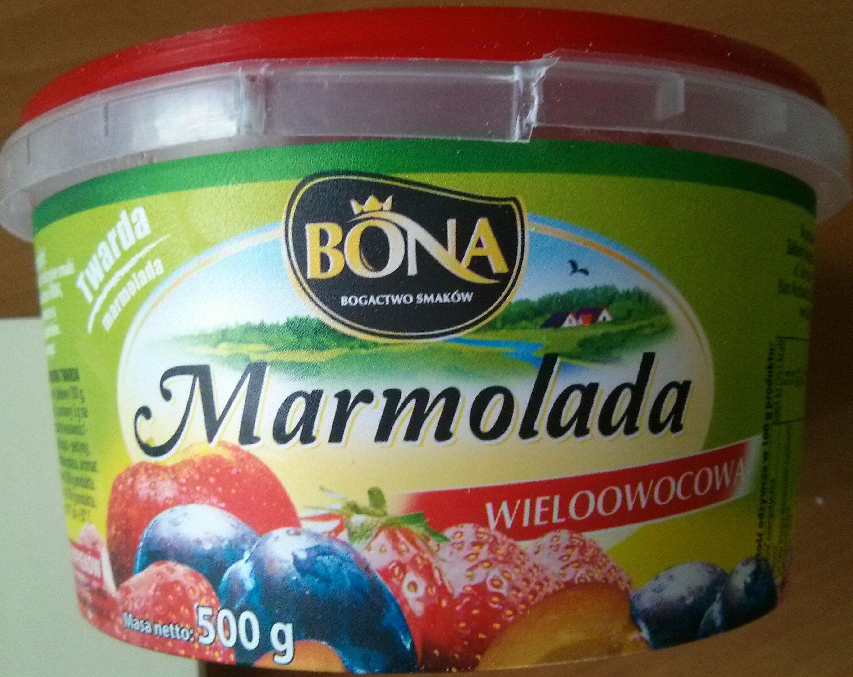 Marmolada wieloowocowa - Produkt - pl