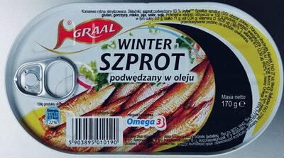 Winter szprot podwędzany w oleju - Produkt