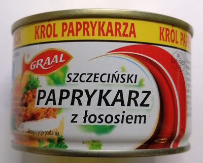 Paprykarz Szczeciński z łososiem. - Produkt