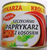Paprykarz Szczeciński z łososiem. - Produkt - pl