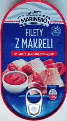 Filety z makreli w sosie pomidorowym - Produkt