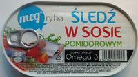 Śledź w sosie pomidorowym. - Product - pl