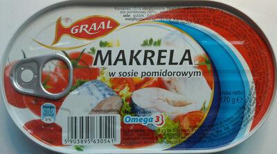 Makrela w sosie pomidorowym. - Produkt