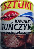 Tuńczyk kawałki w sosie własnym - Product