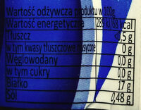 Tuńczyk kawałki w sosie własnym - Nutrition facts