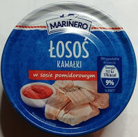 Łosoś kawałki w sosie pomidorowym - Produkt - pl