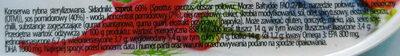 Szprot w pikantnym sosie pomidorowym. - Wartości odżywcze