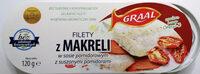 Filety z makreli w sosie pomidorowym z suszonymi pomidorami. - Product