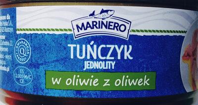 Tuńczyk jednolity w oliwie z oliwek - Product - pl