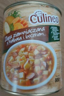 Zupa ziemniaczana z kiełbasą i boczkiem - Produit - pl