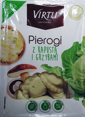 Pierogi z kapustą i grzybami - Produkt