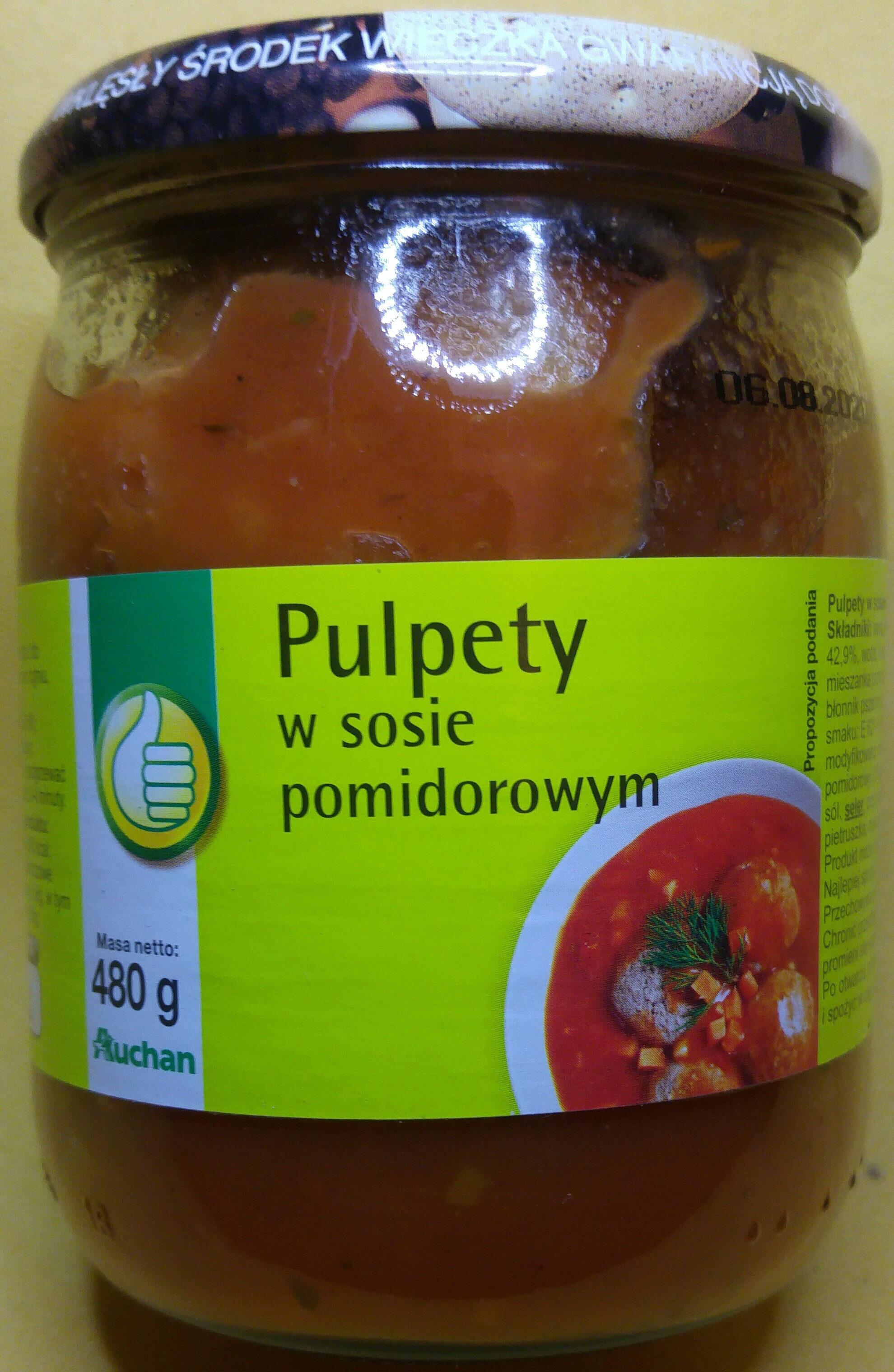 Pulpety w sosie pomidorowym. - Produkt - pl