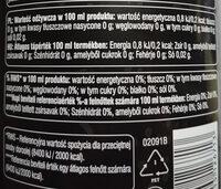 Cola zero - Wartości odżywcze - pl
