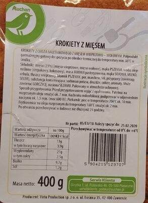 Krokiety z mięsem - Produit - pl