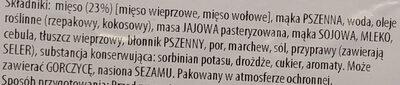 Krokiety z mięsem - Ingrédients - pl