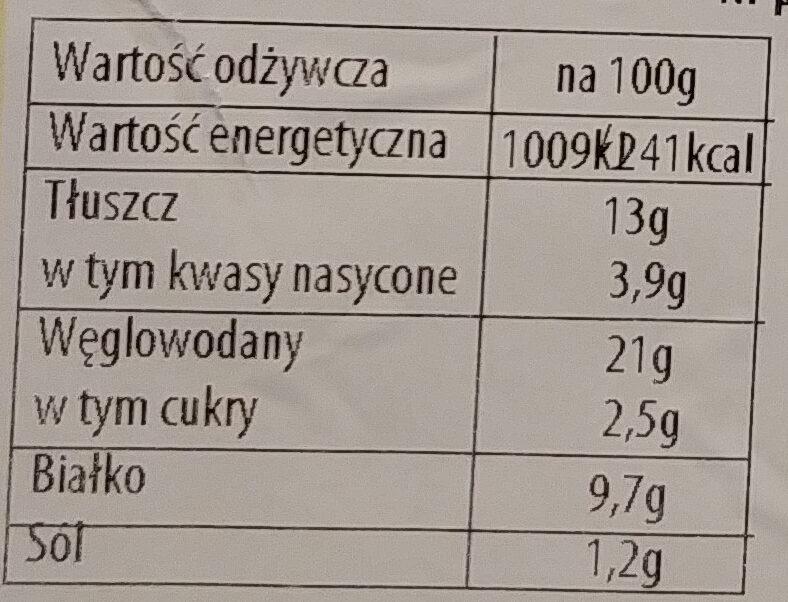 Krokiety z mięsem - Informations nutritionnelles - pl