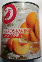 Brzoskwinie w syropie. - Produkt