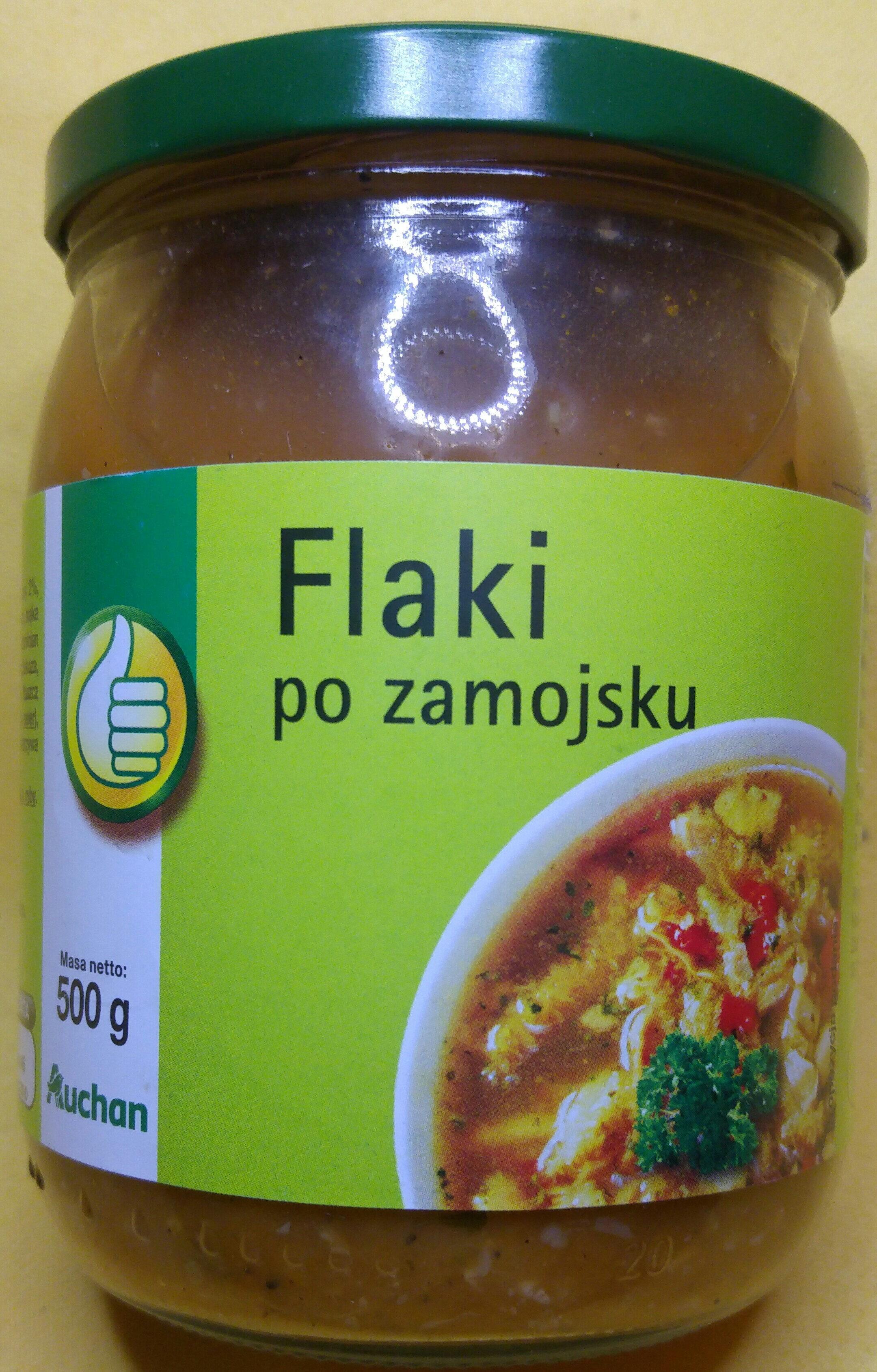 Flaki po zamojski - flaki wołowe w sosie pomidorowym. - Product
