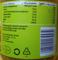 Flaki po zamojski - flaki wołowe w sosie pomidorowym. - Nutrition facts