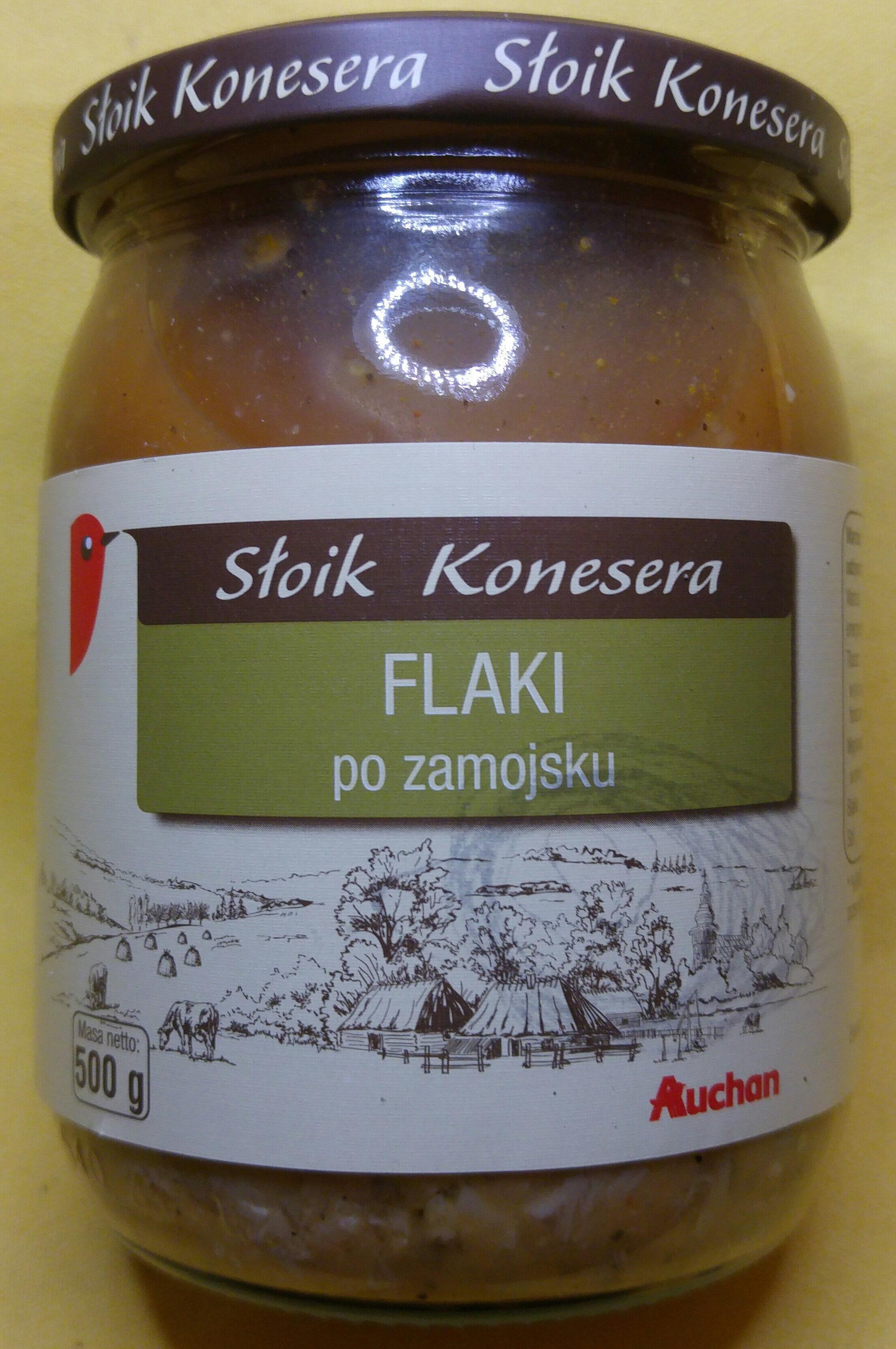 Flaki po zamojsku - flaki wołowe w sosie pomidorowym - Produkt - pl