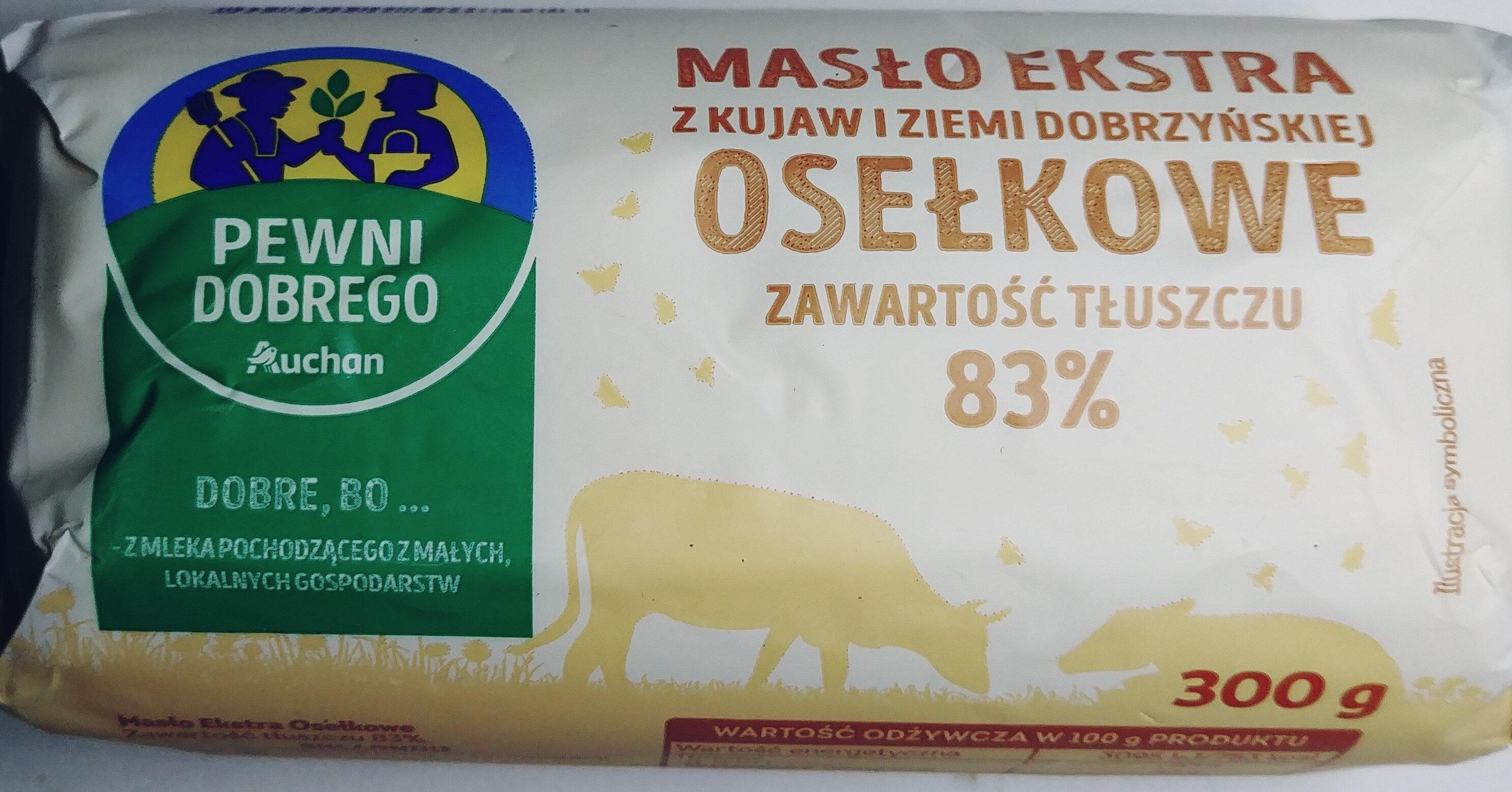 Masło ekstra z Kujaw i ziemi dobrzyńskiej - Produkt - pl