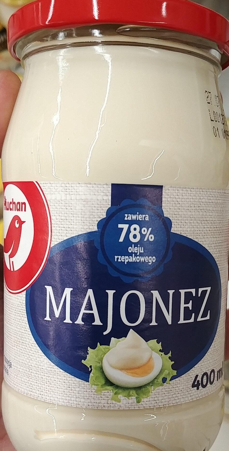 Majonez wysokotłuszczowy - Produit - pl