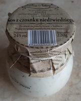 Sos z czosnku niedżwiedziego - Produkt - pl