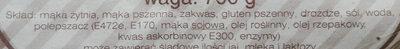 Chleb Żytnio-Wiejski - Składniki - pl