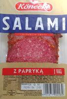 Salami z papryką - Produkt