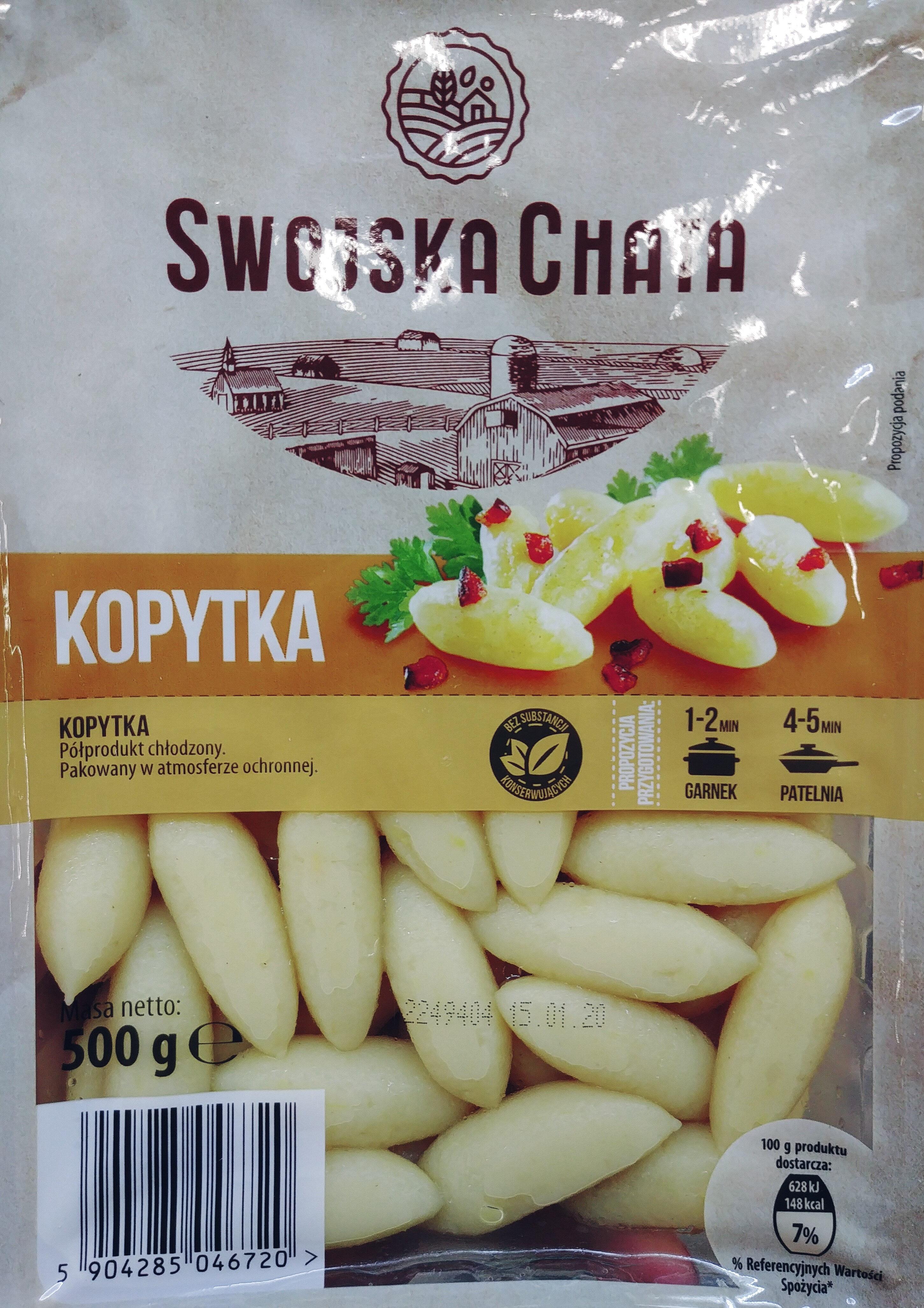 Kopytka - Product