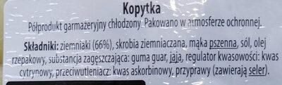 Kopytka - Ingredients