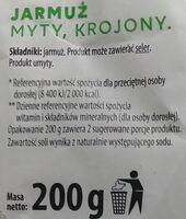 Jarmuż myty, krojony - Składniki - pl