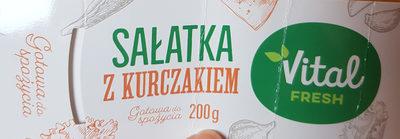 Sałatka z kurczakiem - Produkt - pl