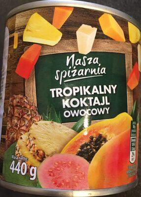 Tropikalny koktajl owocowy - Produit - pl