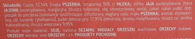 Faworki - Ingrédients - pl