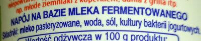 Ayran napój turecki - Ingredients
