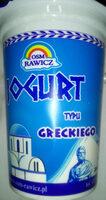 Jogurt typu greckiego - Produkt