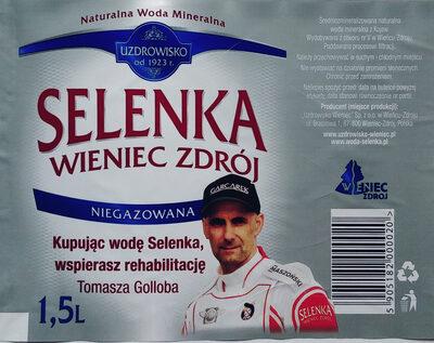 Naturalna woda mineralna - Produkt