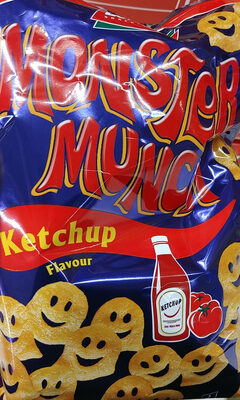 Chrupki ziemniaczane o smaku ketchupu. - Produkt - pl